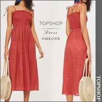 【国内発送・関税込】TOPSHOP★Ditsy Shirred Maxi Dress