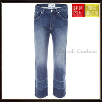 【ロエベ】Embroidered Jeans Indigo