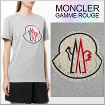 18SS★MONCLER GAMME ROUGE レース ロゴ Tシャツ FLIC-FLAC