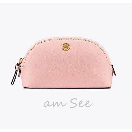 Tory Burch メイクポーチ 【2018SS】Tory Burch ROBINSON コスメポーチ Pale Apricot(2)