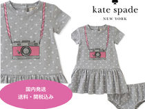 SALE!!【kate spade】Two-Piece Camera Dress and Bloomers Set