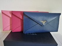 PRADA 1MF175 VIT.MOVE 封筒型財布 BLUETTE国内発送料関税込