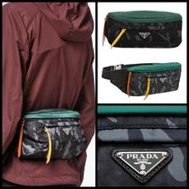 【関税送料込】大特価◆NEW◆PRADA◆Camouflage Nylon belt bag