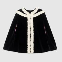 18SS Children's velvet cape with embroidery