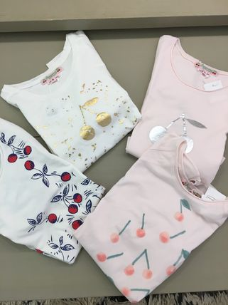 SS18 BONPOINT☆FILLE Tシャツ2点セット3.4.6