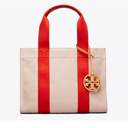 2018SS♪ Tory Burch ★ MILLER CANVAS TOTE