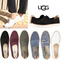 2018秋柄入荷!UGG SAMMY ソフトニットスリッポンハーフサイズ有