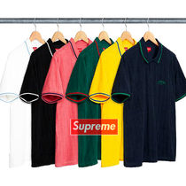 17 week Supreme  Cable Knit Terry Polo