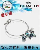 最安値★コーチ Coach 24814 Uni Charm Collectible Hoop Bangle