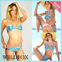 【Wildfox Couture】即発!レトロ花柄☆ビキニ上下セット☆
