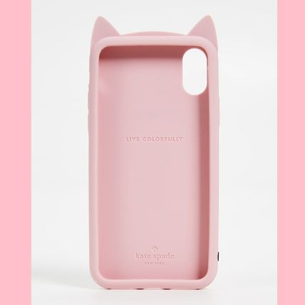 kate spade new york スマホケース・テックアクセサリー 【kate spade】Silicone Cat  iPhone 8 / iPhone 7 Case(2)