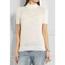 3.1 Phillip Lim(3.1フィリップリム)  Open-knit Wool-blend Top