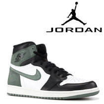 "入手困難!NIKE AIR JORDAN 1 RETRO ""CLAY GREEN"""