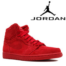 入手困難!NIKE AIR JORDAN 1 RETRO HIGH Red Suede