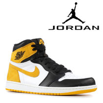 "追跡有り配送!NIKE AIR JORDAN 1 RETRO HIGH OG ""YELLOW OCHRE"""