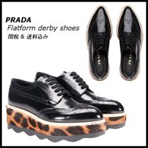 *PRADA*Flatform derby shoes 関税・送料込♪