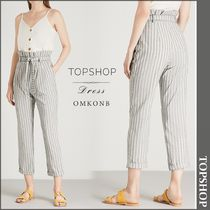 【国内発送・関税込】TOPSHOP★Striped woven trousers