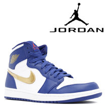 "入手困難!NIKE AIR JORDAN 1 RETRO HIGH ""GOLD MEDAL"""