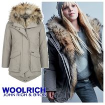 WOOLRICH(ウールリッチ) キッズアウター 極上ファー♪♪大人も着れるWOOLRICH MILITARY PARKA3色♪♪