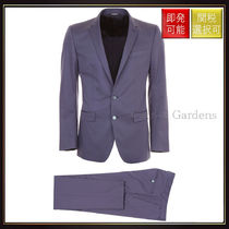 【ドルチェ&ガッバーナ】Cotton Two Piece Suit Blu Scuro