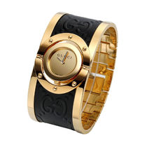 大特価 GUCCI(グッチ) Twirl Gold Dial Ladies Watch YA112444