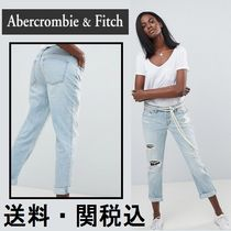 Abercrombie & Fitch Midrise ストレート レッグ ジーンズ