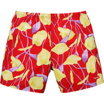 18S/S Supreme Nylon Water Short Red Floral
