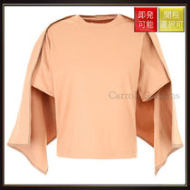 【セリーヌ】T Shirt With Cape Terracotta