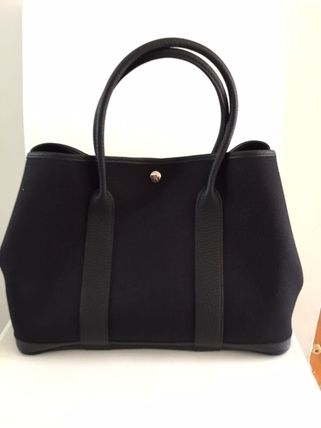 HERMES トートバッグ HERMES Love It !! Garden Party 36 tote bag,French/VerfFonce(2)
