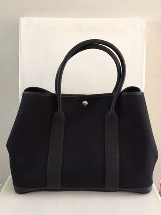 HERMES トートバッグ HERMES Love It !! Garden Party 36 tote bag,French/VerfFonce(5)