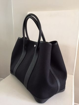 HERMES トートバッグ HERMES Love It !! Garden Party 36 tote bag,French/VerfFonce(7)