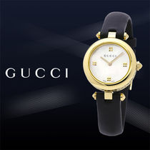 大特価GUCCI(グッチ)Diamantissima Mother of Pearl Dial Ladies
