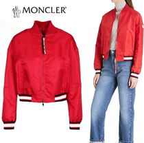 "VIPsale☆MONCLER""ACTINOTE""リブ ボンバーブルゾンRed【関税込】"