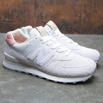 NEW BALANCE ML574OR スエードスニーカー SEA SALT 18SP-I