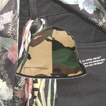 **OFFWHITE**2018AW camouflage bucket hat バケットハット