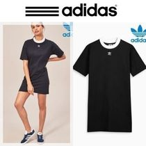 NEW adidas Originals Trefoil ブラック ワンピース
