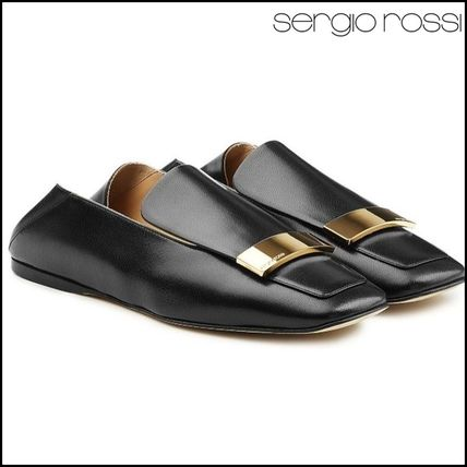 Sergio Rossi(セルジオロッシ)★Leather Loafers