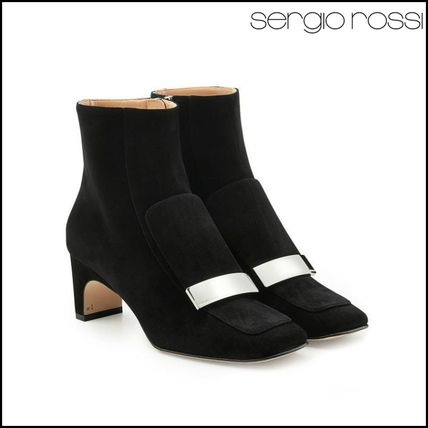 Sergio Rossi(セルジオロッシ)★Suede Ankle Boots