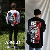 ASCLO★韓国の人気★FRANC FACE OVER FIT TEE 2色