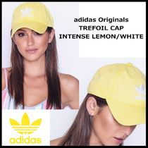 国内発送・正規品★adidas Originals TREFOIL CAP★Yellow/White