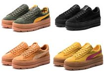 ☆SALE☆ PUMA Cleated Creeper Suede-WOMEN'S スニーカー