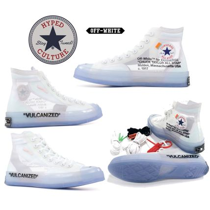 THE 10 CONVERSE CHUCK TAYLOR × OFF-WHITE チャックテイラー