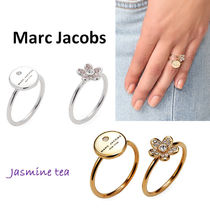 Marc by Marc Jacobs(マークバイマークジェイコブス) 指輪・リング ★即発♪★2色Marc by Marc Jacobsダブルチャームリング★
