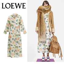 追跡ありで安心☆LOEWE Forest Shirtdress Multicolor