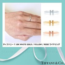 [Tiffany & Co.] ティファニー T Wire Ring 18Kゴールド3色☆