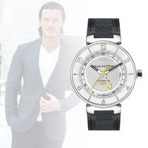 Louis Vuittonルイヴィトン◆mens腕時計 TAMBOUR MOON GMT 41,5