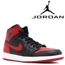 "追跡有り配送!NIKE AIR JORDAN 1 RETRO HIGH OG ""BRED"""