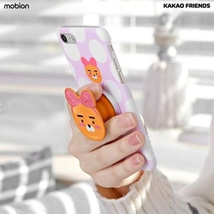 KAKAO FRIENDS スマホケース・テックアクセサリー 【KAKAO FRIENDS】Smart Grip Talk Slim Mobile Phone Cradle(2)