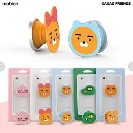 KAKAO FRIENDS スマホケース・テックアクセサリー 【KAKAO FRIENDS】Smart Grip Talk Slim Mobile Phone Cradle(3)
