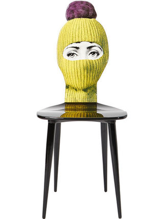 FORNASETTI 椅子・チェア FORNASETTI フォルナセッティ HAT AND FACE PRINTED CAHIR(2)